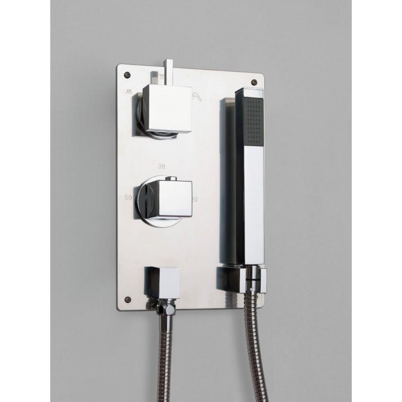 Grifer a termost tica para empotrar mod vera - Griferia termostatica precios ...