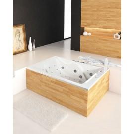 Bañera de hidromasaje Duo 180x120