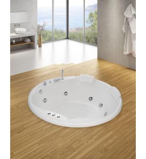 Bañera de hidromasaje Panticosa 160 diam.