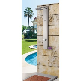 Columna ducha jardín Urban 130x13x51